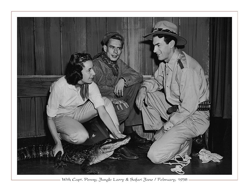 Cleveland Radio-WEWS-TV5 / Capt. Penny, Jungle Larry, Safari Jane / February, 1958