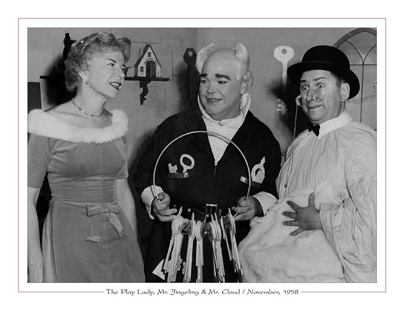 Cleveland Radio-TV Ghoulardi / The Play Lady, Mr. Jingeling & Mr. Cloud / November, 1958