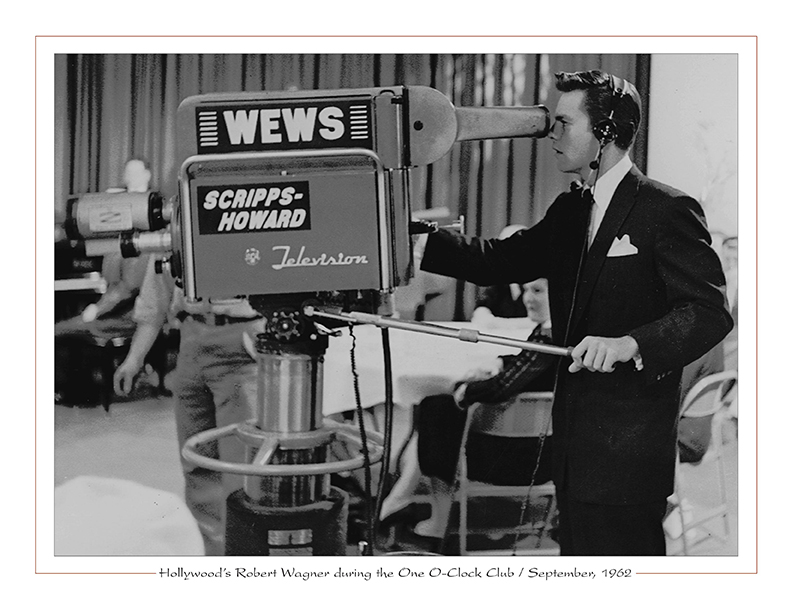 Cleveland Radio-TV Ghoulardi / Hollywood's Robert Wagner during the One O-Clock Club / September, 1962