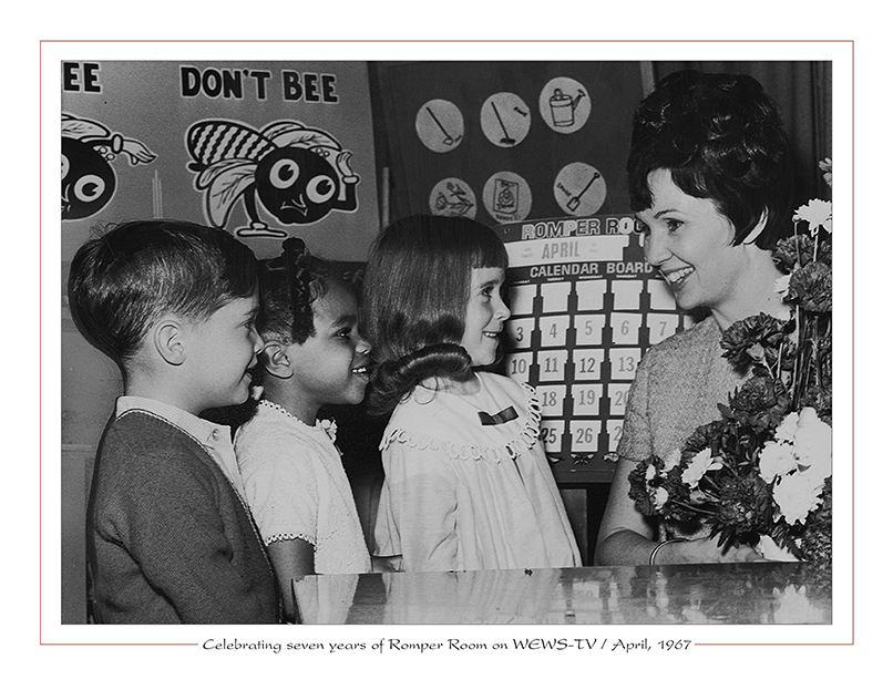 Cleveland Radio-TV Miss Barbara / Celebrating seven years of Romper Room on WEWS-TV5 / April, 1967