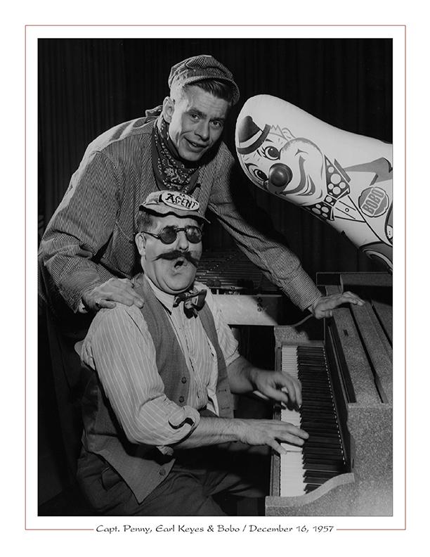 Cleveland Radio-WEWS-TV5 / Capt. Penny, Earl Keyes, Bobo / December 16, 1957