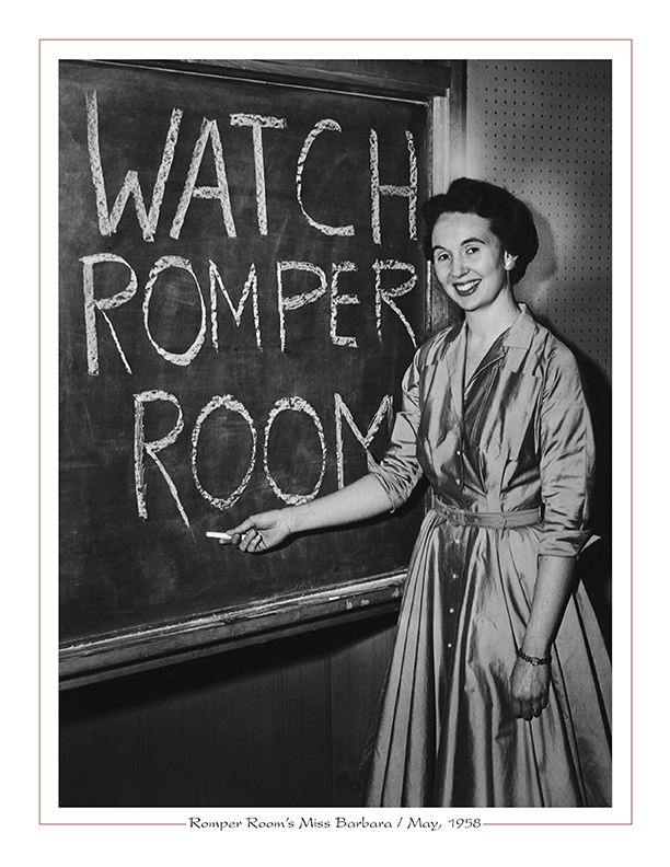 Cleveland Radio-WEWSTV5 / Romper Room's Miss Barbara / May, 1958
