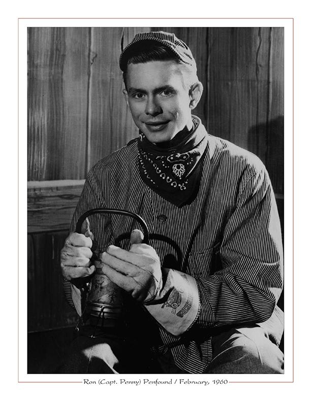 Cleveland Radio-TV Ghoulardi / Ron (Capt. Penny) Penfound / February, 196