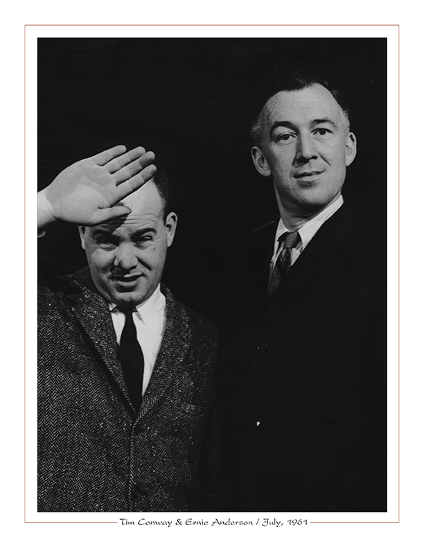 Cleveland Radio-WJW-TV8 Ghoulardi / Tim Conway with Ernie Anderson / July, 1961