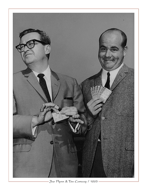 Cleveland Radio-TV Ghoulardi / Youngstown native Joe Flynn with Tim Conway / 1965