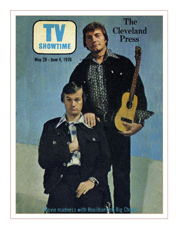 Cleveland Radio-WJW-TV8- Ghoulardi / The Cleveland Press TV Guide with Hoolihan & Big Chuck Schodowski, May 28, 1976