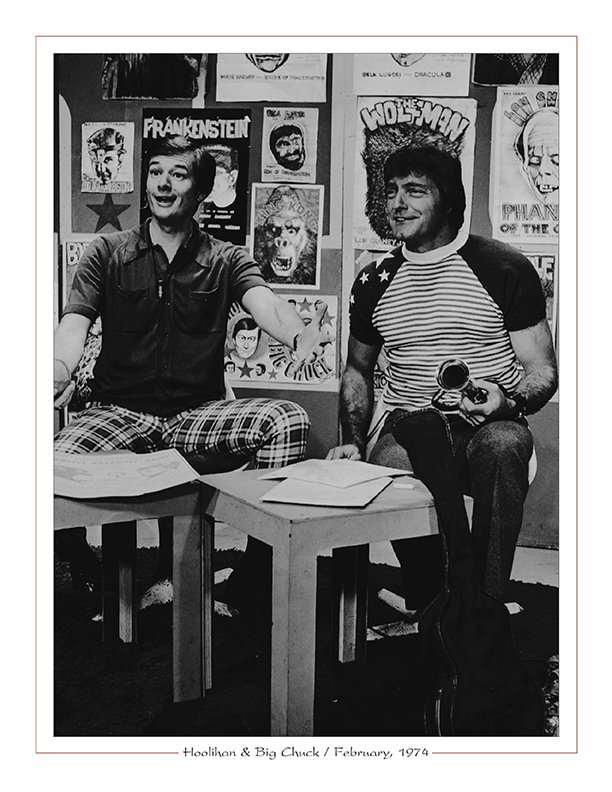 Cleveland Radio-TV Ghoulardi / Hoolihan with Big Chuck Schodowski / February, 1974