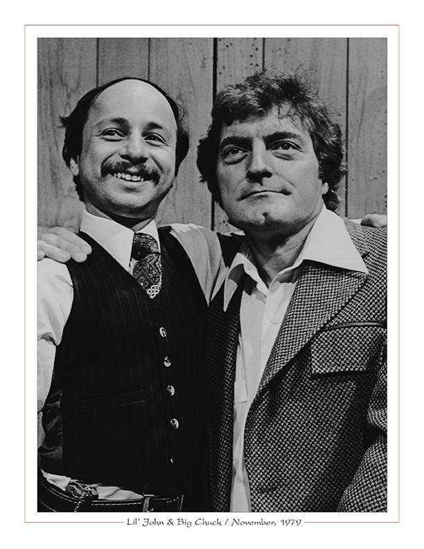 Cleveland Radio-TV Ghoulardi / Lil' John Rinaldi with Big Chuck Schodowski / November, 1979