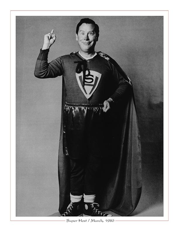 Cleveland Radio-TV Ghoulardi / Super Host (Marty Sullivan) on WUAB-TV43, March, 1980