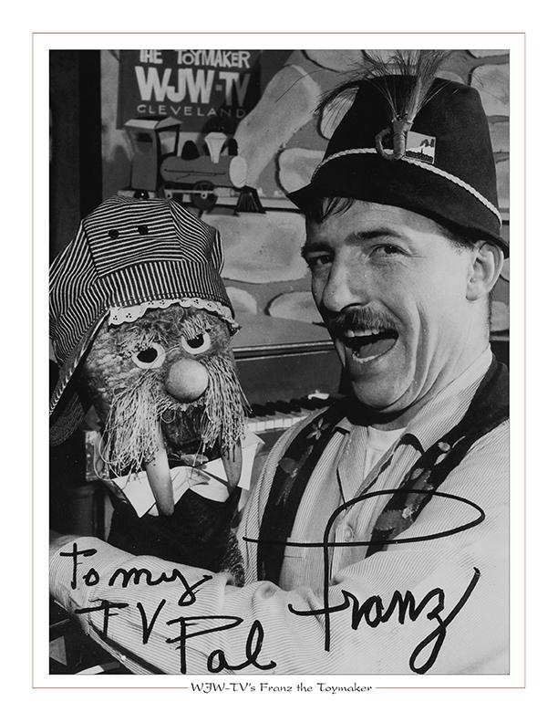 Cleveland Radio-TV Ghoulardi / WJW-TV's Franz the Toymaker