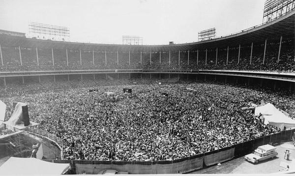 Rolling Stones concert at Municipal Stadium, June, 1975
